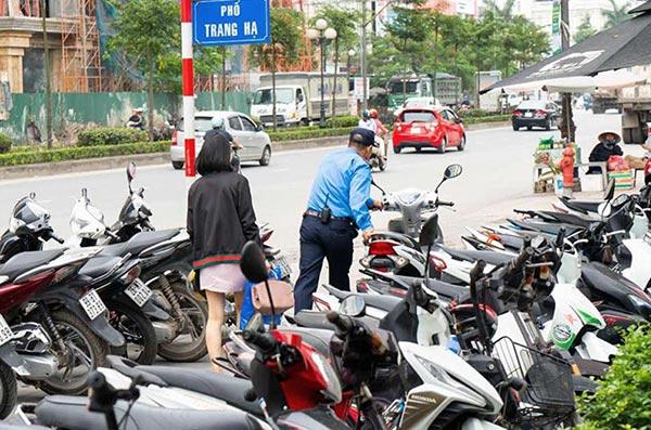Dịch vụ bảo vệ trông giữ xe